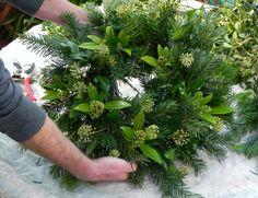 How to Make a Christmas Wreath | MyGardenSchool