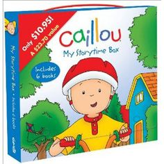 Caillou My Storytime Box Set from PBS Kids Shop