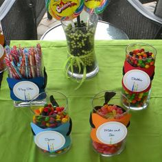 Candy Buffet Jars | Candy Buffet Jars Containers