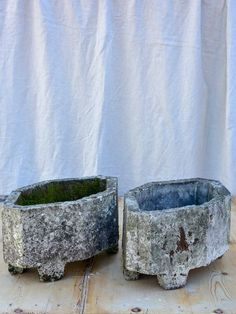 Pair Of Antique French Garden Planters Flowers Garden Urn Planters, Outdoor Planters, Flower Planters, Flowers Garden, Garden Paving, Garden Urns, Patio Patterns Ideas, Garden Swing Seat, Modern Garden Design