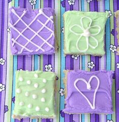 Sugar Cookie Bars from Jamie Cooks It Up! These wonderful bars taste just like a soft, sweet sugar cookie without all the work. They will also feed a crowd. Give them a try!