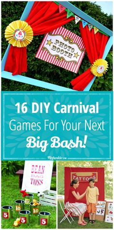 16 DIY Carnival Games for Your Next Big Bash
