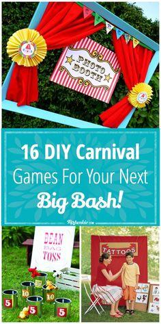 16 DIY Carnival Games for Your Next Big Bash