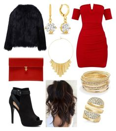 """""""Untitled #118"""" by fashionstyleideas4now on Polyvore featuring Apt. 9, WithChic, Alexander McQueen, Adoriana, BERRICLE and Thalia Sodi"""