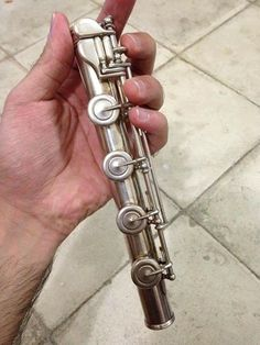 Long foot joint on a 1962 Haynes Flute