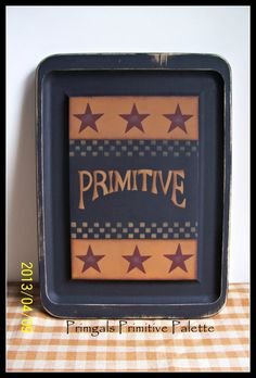 OOAK HAND PAINTED CUTTING BOARD~ LOVE! http://www.etsy.com/listing/128895315/primitive-wood-cutting-board-vintage