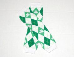 St Patrick's day Leg warmer - White/Green Argyle ON SALE NOW ONLY $1.99  http://www.gabskia.com/store.php#!/~/product/category=3361337=18852809
