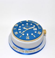 #Rolex Submariner Birthday Cake    like .. repin .. comment :)    http://amzn.to/X1nbG9