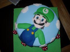 Luigi is his favorite.