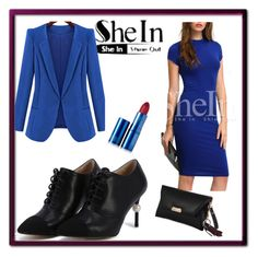 """""""Shein #10/2"""" by s-o-polyvore ❤ liked on Polyvore featuring Chicnova Fashion and Lipstick Queen"""