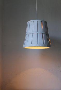 Bushel Basket Pendant Light