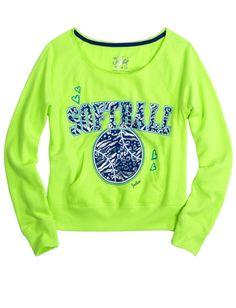Sports Pullover Sweatshirt | Pullovers | Sweatshirts | Shop Justice 100% softball!!!!
