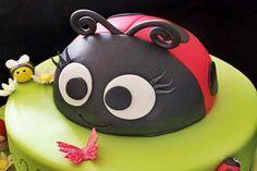 uğur böcekli pasta 8