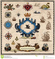 antique-map-elements-light