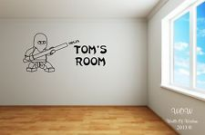Lego Superhero Ninjago Childrens Bedroom Wall Sticker Wall Art Decal -maybe? ask the boys!