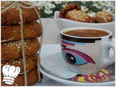 ΑΝΑΡΠΑΣΤΑ ΜΠΙΣΚΟΤΑ ΜΕ ΤΑΧΙΝΙ ΝΗΣΤΙΣΙΜΑ!!! - Νόστιμες συνταγές της Γωγώς! Donuts, French Toast, Pancakes, Cookies, Breakfast, Recipes, Food, Frost Donuts, Crack Crackers