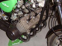 Simson S51 Umbau zur S200 mit 4 Zylindern