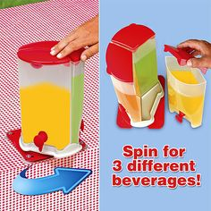 Drink dispenser's are perfect for serving fresh beverages at parties and BBQs.
