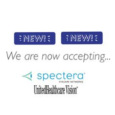 We Are Now Accepting Spectera and UHC vision! - Schedule an appointment today! Call us.. we would love to take care of all your eye care needs! (703)938-7633