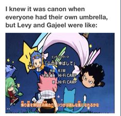 It's so cannon, hands down!!!! XD ||GaLe|| #Fairy Tail