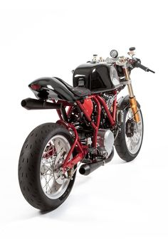 This incredible Ducati Monster-powered custom was built by Deus in LA and inspired by the raw, mechanical feel of Chevys. Vintage Bikes, Vintage Diy, Vintage Motorcycles, Custom Motorcycles, Custom Bikes, Vintage Cars, Sport Motorcycles, Yamaha Motorcycles, Suzuki Motorcycle
