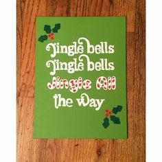 Jingle Bells by NettyAndJoey on Etsy
