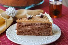 "Chocolate Honey Layer Cake – Торт ""Спартак"""