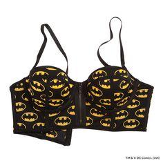 bustier noir BATMAN x UNDIZ 16.95€ http   www.undiz.com 45b1c22cf1f