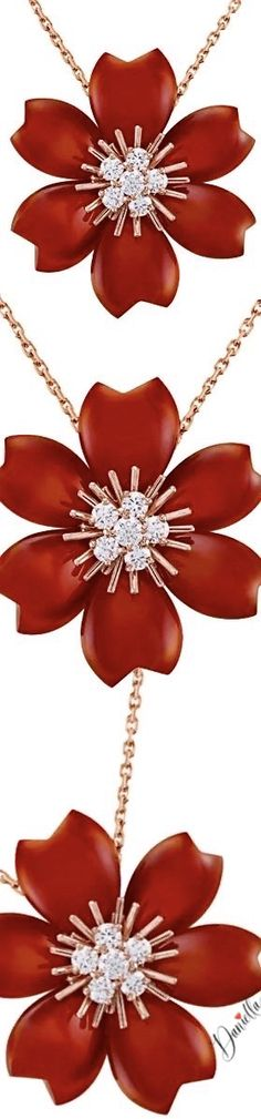 Discover Van Cleef & Arpels' universe and its High Jewelry, Jewelry, Bridal and Watches creations. High Jewelry, Jewellery, Intense Love, Pin Logo, Meaning Of Love, Van Cleef Arpels, Floral Fashion, Red Garnet, Coral Color