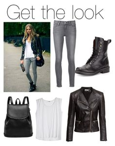 """""""Untitled #75"""" by kellylyons-1 on Polyvore featuring H&M, rag & bone and Paige Denim Paige Denim, Get The Look, Polyvore, Image, Fashion, Moda, Fashion Styles, Fashion Illustrations"""