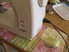 Sewing Machine Mat Tutorial by Carina Envoldsen-Harris of Carina's Craftblog