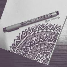 Doodle art – Drawings – Mandala drawing – Art drawings – Zentangle art – Doodle drawings – 40 – Art World 20 Mandala Doodle, Doodle Art Designs, Doodle Art Drawing, Zentangle Drawings, Pencil Art Drawings, Zentangle Patterns, Art Drawings Sketches, Drawing Ideas, Mandala Tattoo