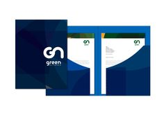 Green Network Stationery on Behance