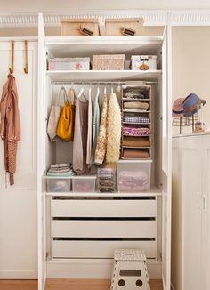 Um closet inspirador