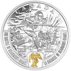 2016 $20 Fine Silver Coin - First World War Battlefront Series: The Battle of…