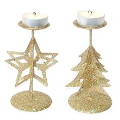 Candelabro Navidad Oro. También disponible en plata. http://www.airedefiesta.com/product/4055/0/0/1/1/Candelabro-Navidad-Oro.htm