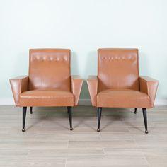 Vintage Mid Century Modern Armchairs : EBTH