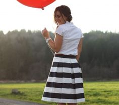 The Awning Skirt :: Navy
