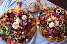 Flowers and fruit and cheese (@yourplattermatters)