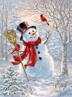 Snowman wallpaper by mirapav - b23f - Free on ZEDGE™