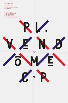 Les Graphiquants, Pl. Vendome, 2013 http://www.les-graphiquants.fr/