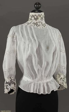 WHITE BLOUSE, 1905-1915