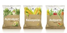 Mousegraphics launches a new series of frozen vegetables called Vegeterra.