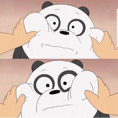 Hayeeee😍😍😍😍😍😍but missing her tang krna😂😔❤❤ We Bare Bears Wallpapers, Panda Wallpapers, Cute Cartoon Wallpapers, Cute Panda Wallpaper, Bear Wallpaper, Cute Wallpaper Backgrounds, Ice Bear We Bare Bears, We Bear, Pardo Panda Y Polar