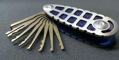 TiPiK - Titanium Lockpick Set - Swish.com.  Get the key holder, TiKeY in titanium on Kickstarter.  ONLY 4 DAYS LEFT TO GET YOURS!