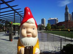 the boston garden gnome: on the greenway