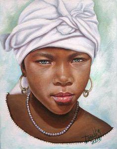 African Children Paintings By Dora Alis – beauty African Artwork, Foto Poster, Black Love Art, African Children, Black Artwork, Afro Art, Black Artists, African American Art, Cool Paintings