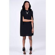 Princess D Cape Dress