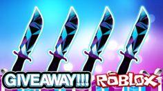 JD KNIFE GIVEAWAY!!! (RAREST KNIFE EVER)   Murder Mystery 2