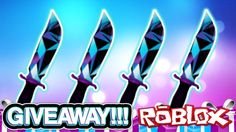 JD KNIFE GIVEAWAY!!! (RAREST KNIFE EVER) | Murder Mystery 2